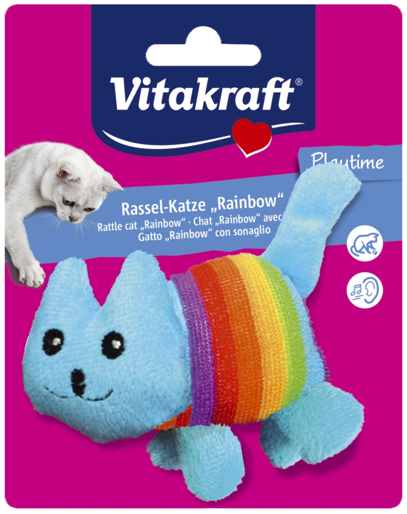 Vitakraft 4YOU Rainbow Rasler Katteleke