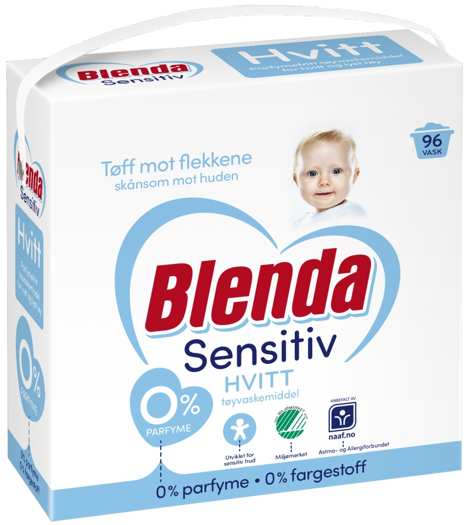 Blenda Sensitive Hvit