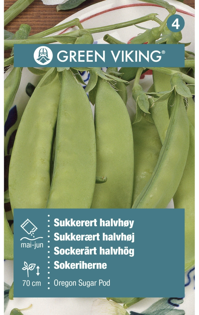 Green Viking Frø Sukkererter oregon sugar