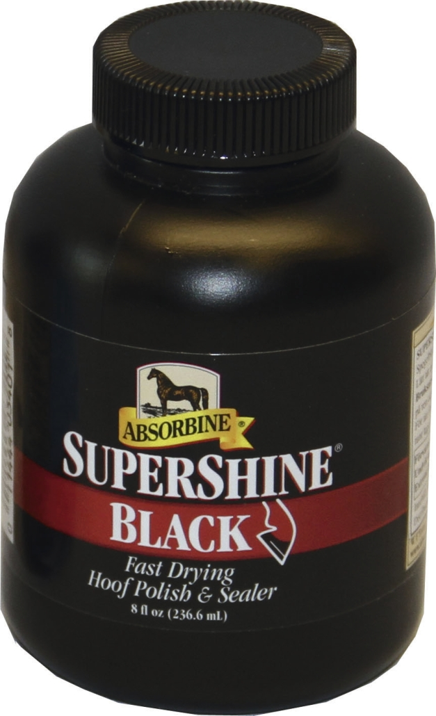 Absorbine Supershine Hoofpolish black 236 ml