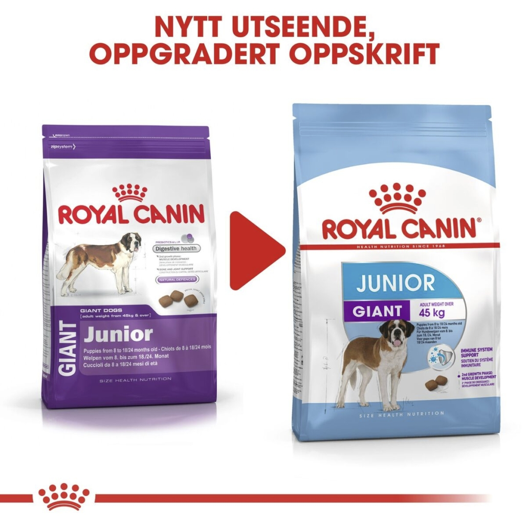 Royal Canin Hundefôr Giant junior