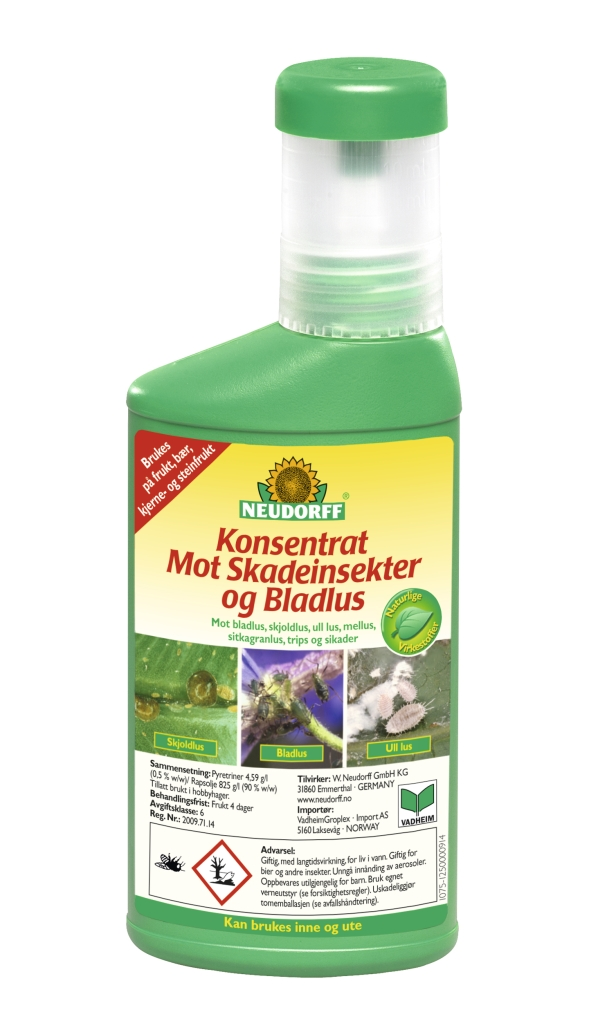 3cc4c5bf Felleskjøpet nettbutikk - Konsentrat mot skadeinsekter og bladlus 250 ml
